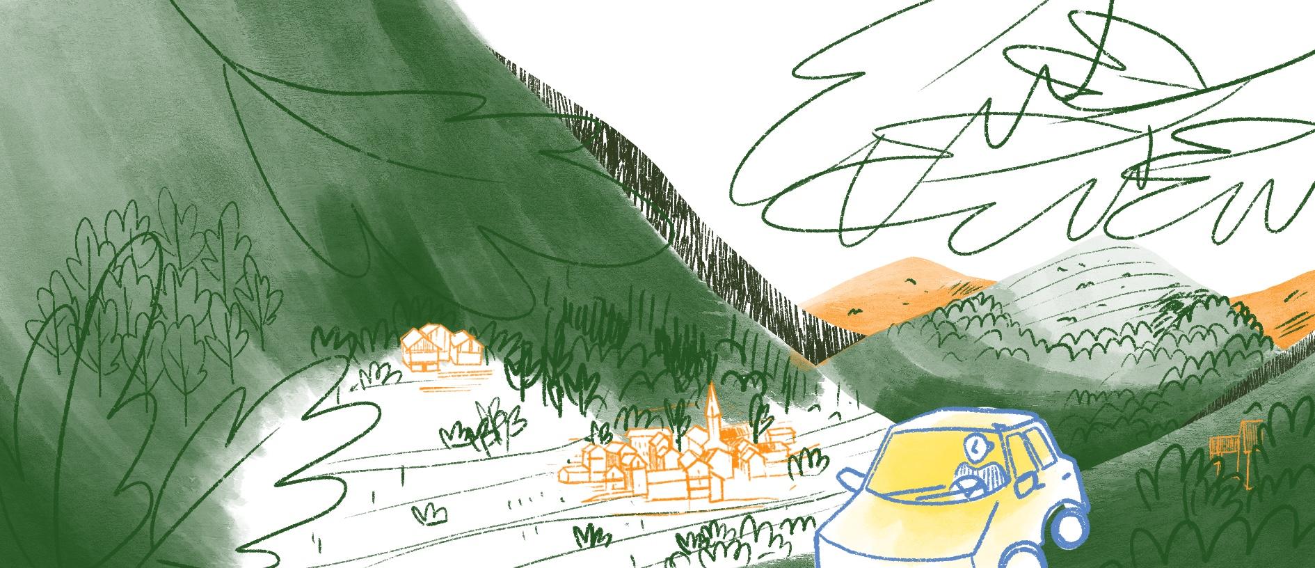 La forêt aujourd'hui, boisements spontanés, une histoire illustrée, Copin.