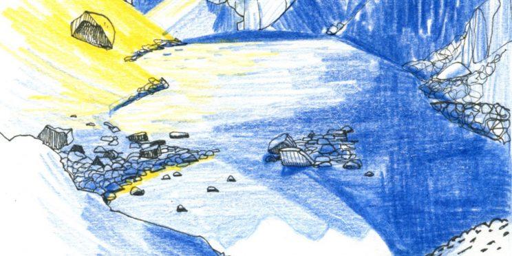 Grande Traversée des Alpes de la Méditerranée, carnet de voyage, Hélène Copin