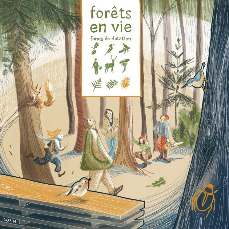 Forêts en VIe, fonds de dotation, copin des bois
